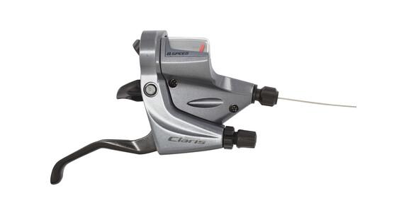 Shimano Claris ST-R240 Klamkomanetka 8-biegowe szary